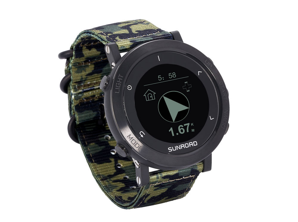 智能GPS军迷运动手表