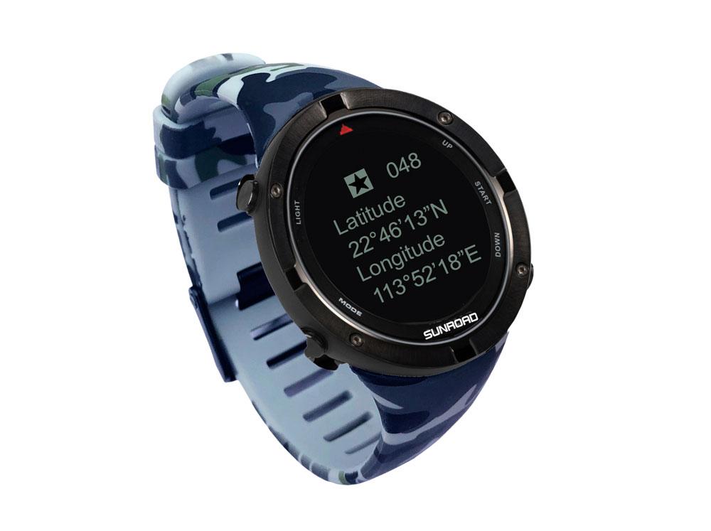 智能GPS迷彩运动手表